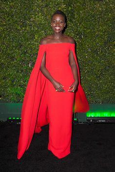 Lupita Nyong'o in Ralph Lauren, 2014