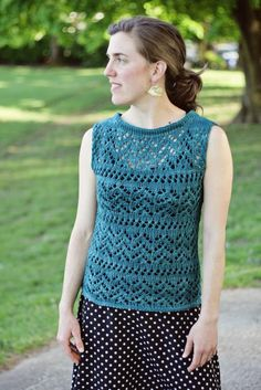 Stay Cool With 8 Summery Knit Tank Top Patterns