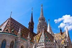 Matthias kerk bij Buda Castle