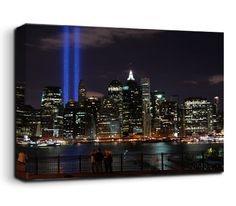 A stunningly beautiful evocation of New York's annual tribute to the departed in the September 11th attacks, and to the strength of will of those that survived.    Image courtesy of a creative commons licence, from Julie Feinstein on Flickr here - http://www.flickr.com/photos/33822654@N06/4983277978     You can read more about the CC-BY licence here - http://creativecommons.org/licenses/by/2.0/deed.en_GB