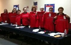 The Kennewick Chapter Daughters of the American Revolution Supports Red Wear Fridays!!