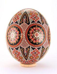 Easter eggs from the Bukovina, Rumania.