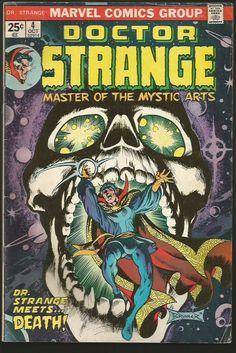Dr. Strange #4 Marvel Comics Art by Frank Brunner 1974 Fine range