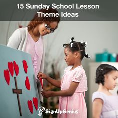 15 Sunday School Lesson Theme Ideas. Teach Children from Pre-School to High School with These Age-Appropriate Bible Stories, Memory Verses, Questions and Activities.