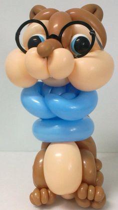 Simon, fratello di Alvin super star di palloncini modellabili