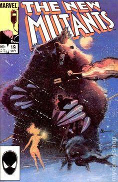 New Mutants (1983 1st Series) 19