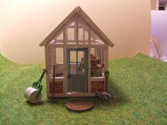 Dollhouse+Green+House+Glass+House+Garden+by+LaPetiteMaisonDAmour,+£27.00