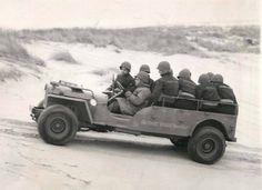 US Coast Guard extended Jeep, 1944 Old Jeep, Jeep Cj, Jeep Truck, Jeep Wrangler, Pickup Trucks, Lifted Ford Trucks, Military Jeep, Military Vehicles, Off Road Racing