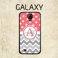 Galaxy S5 Case  Samsung Galaxy S4 Case   Coral by mylittlecase