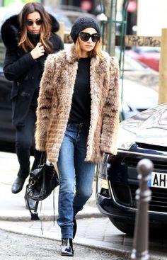 That's a very nice fur coat Nicole!