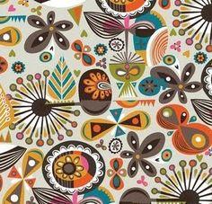 Fabric design by Helen Dardik