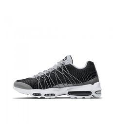 Nike Air Max 95 Ultra Jacquard White Black Grey NIKE962 Air Max 95 White fba154798