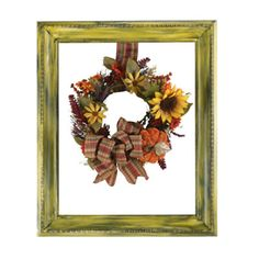 Love!! Would hang it on my front door and change the wreath to fit the season:)