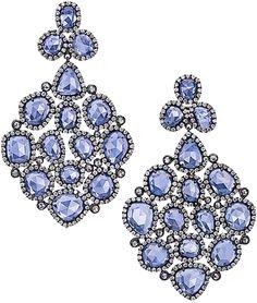 Blue Sapphire Chandelier Earrings | Cellini Jewelers