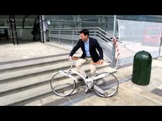 The Folding, Spoke-less Bike is a Work of Design Genius