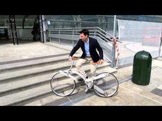 Sada Gianluca - Hubless Foldable Sada Bike - Eurobike > se pliega hasta ser como un paraguas! bicycl