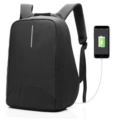 CoolBELL Inch Laptop Backpack With USB Port Charging   Light-weight City  Anti-theft Bag   Functional Knapsack Backpack   Water-resistant Rucksack  For Men ... 51982490d98eb