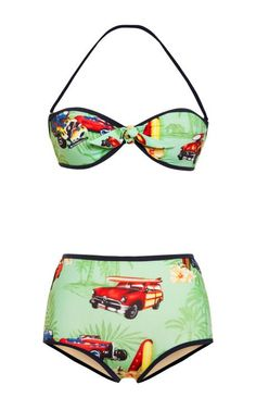 Razza Hawaiian Car Bikini by Stella Jean
