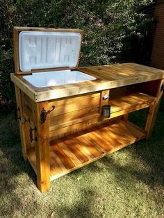 rustic Outdoor Kitchen on a budget backyards patio ideas