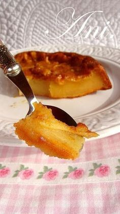 Cocina – Recetas y Consejos Sweets Recipes, Apple Recipes, My Recipes, Cake Recipes, Cooking Recipes, Favorite Recipes, Spanish Desserts, Delicious Desserts, Yummy Food