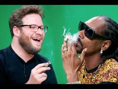 "And this time they're here to recap Game of Thrones for us. | Seth Rogen And Snoop Dogg Got High And Recapped ""Game Of Thrones"""