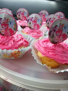 My little pony cupcakes My Little Pony Cupcakes, Event Decor, Events, Desserts, Food, Tailgate Desserts, Deserts, Essen, Postres
