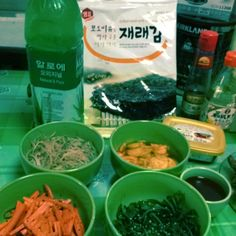 Turning Korean ~ Side dishes