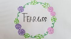 I'm a girl but, i'm fearless