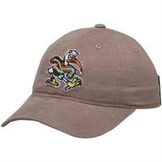 Women's adidas Gray Miami Hurricanes Fan Slouch Adjustable Hat