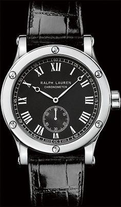 Ralph Lauren 45MM Steel Classic Chronometer Watch