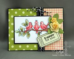SNSS One of a Kind and Ticket Sentiments stamp sets