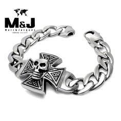 Free shipping Guaranteed 100% NEW Stainless steel bracelets & bangles Wholesale and retail.Cross Skull Lowest Price Best Quality - http://jewelryfromchina.com/?product=free-shipping-guaranteed-100-new-stainless-steel-bracelets-bangles-wholesale-and-retail-cross-skull-lowest-price-best-quality