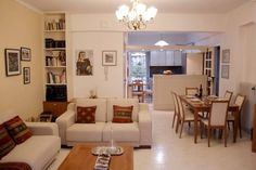 """Entire home/apt in Chania, Greece. My-home is a 2bedroom ,80 m apartment,on the 1s floor,partially renovated in 2017,located in the popular neighbornhood of Nea Chora and one breath away of the sandy beach(300m), 3"""" to the old harbour and the city centre.Discover all places of inte..."""