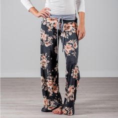 Super Comfy Jogger Pants feature drawstrings with a mid-waist, bootleg fit. They're perfect for running everyday errands, taking a casual stroll, and of course, just lounging around the house. Jogger Pants, Joggers, Your Next Movie, Running Everyday, Little Buddha, Cute Pants, Great Lengths, Lounge Pants, Knitted Blankets