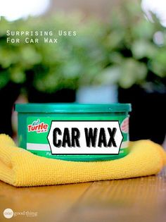 26 Brilliant Uses For Car Wax Around The House - One Good Thing by Jillee