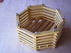 Resultado de imagem para como fazer cachepo com madeira