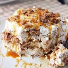 Apple Pie Lasagna - Don't worry, there is no tomato sauce in this.  haha  Looks good!