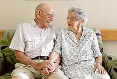 """Still in love after 70 years"" :)"