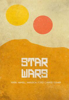 Star Wars minimalist poster