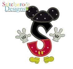 Mickey Mouse Clubhouse S Applique Comes in 3 Sizes