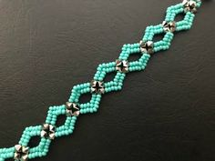 Diamond ♦️ DIY beaded Bracelet ( ONE NEEDLE METHOD) .How to make Beaded Brac…