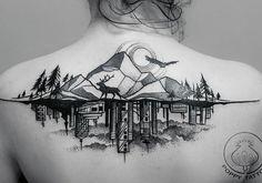 Архитектурные тату