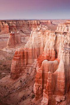 Coal Mine Canyon, Arizona; photo by .vtgohokies