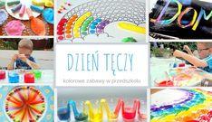 Dzień tęczy w przedszkolu- kolorowe zabawy - Moje Dzieci Kreatywnie Lily Pulitzer, Birthday, Kids, Art Classroom, Young Children, Birthdays, Boys, Children, Dirt Bike Birthday