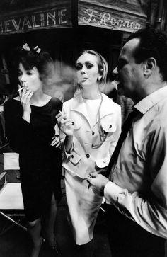 Jeanloup Sieff, Tournage d'Irma la douce de Billy Wilder 1962.