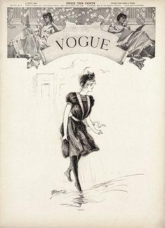 Vogue, July 1899 by G. Greene