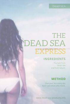 The Dead Sea Express with the best for you .... www.dead-sea-products.info