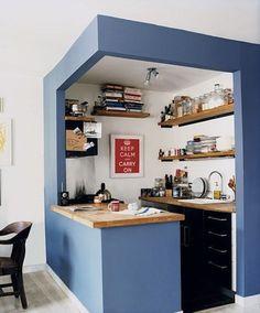cuisine ouverte petits espaces