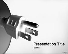 Voltage PowerPoint template is a gray clean background for PowerPoint that you can download for Microsoft PowerPoint 2007 and 2010