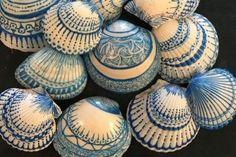 Conchas pintadas